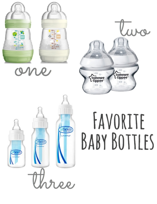 top three favorite and best baby bottles