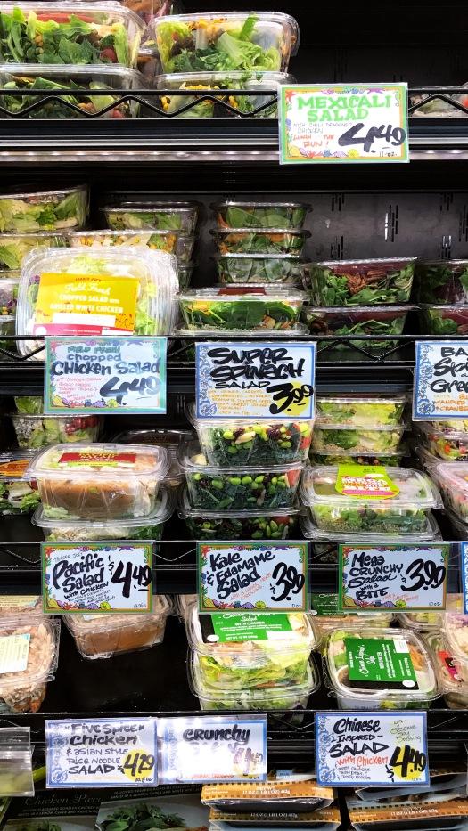 Trader Joe's Prepared Salads